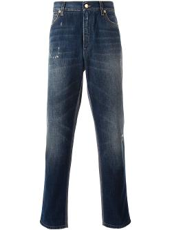 Dolce & Gabbana  - Distressed Jeans