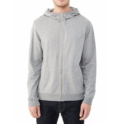 Alternative Apparel - Hideaway Eco-Micro Fleece Zip Hoodie