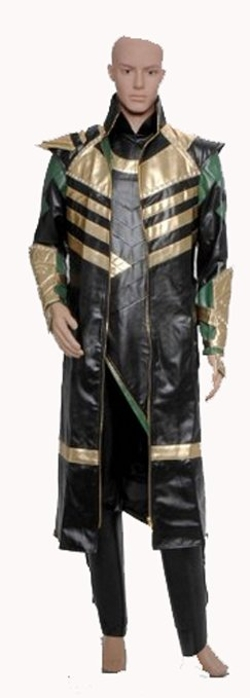 Fashion-Mart - Loki Laufeyson Cosplay Costume
