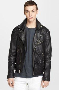 BLK DNM  - Leather Moto Jacket