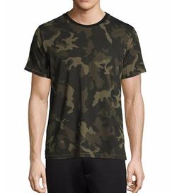 Rag & Bone - Camo-Print Ringer T-Shirt