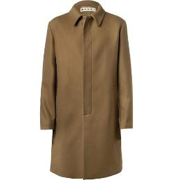 Marni   - Wool-Blend Overcoat