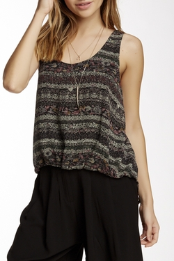 ASTR  - Bubble Hem Tank Top