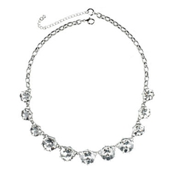 Love Struck - Round Crystal Statement Necklace