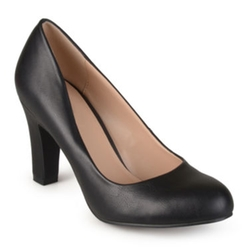 Journee Collection  - Ice Patent Leather Pumps