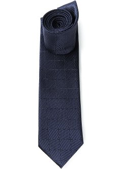 Ermenegildo Zegna  - Square Patterned Tie