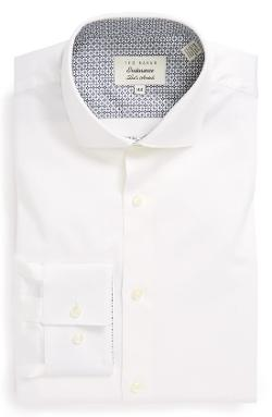 Ted Baker London  - Extra Trim Fit Stretch Cotton Dress Shirt