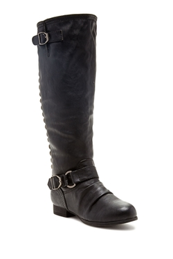 Legend Footwear  - Tosca Tall Studded Boot