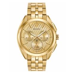 Bulova - Chronograph Stainless Steel Bracelet Watch