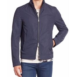 Hugo Boss  - Solid Two-way Zip Jacket