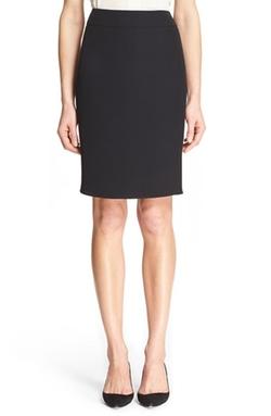 Armani Collezioni - Wool Cady Pencil Skirt