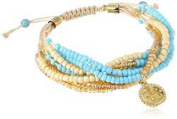 Jessica Simpson - Seed Bead Multi-Strand Bracelet