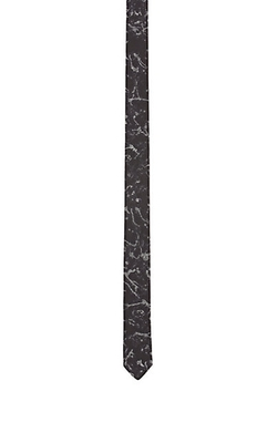 Lanvin - Abstract-Jacquard Skinny Necktie