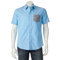Tony Hawk - Colorblock Button-Down Shirt