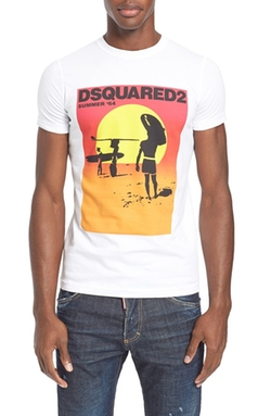 Dsquared2 - Summer Graphic T-Shirt