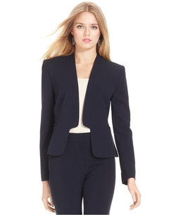 Nine West - Open-Front Cutout Blazer