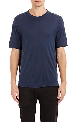 Alexander Wang - Textured-Cuff T-Shirt