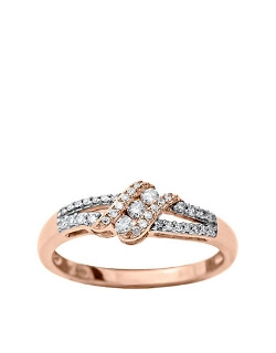 Lord & Taylor - Rose Gold Diamond Ring