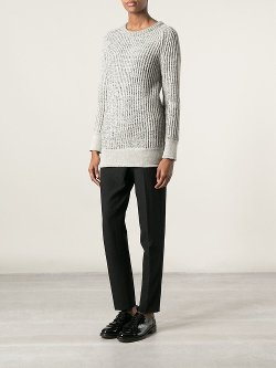 Iro  - Chunky Knit Ribbed Sweater