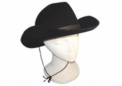 Hayes Specialty - Black Felt Cowboy Hat