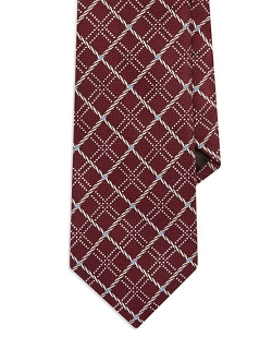 Black Brown 1826  - Patterned Tie
