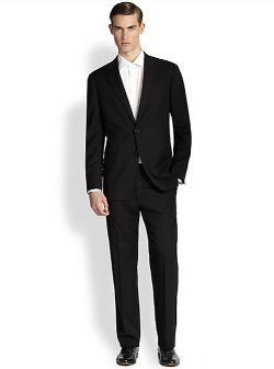 Armani Collezioni - Core Gio Two-Button Suit
