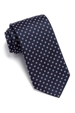 Hugo Boss - Floral Traveller Silk Tie