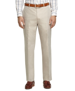 Brooks Brothers - Madison Fit Americana Plain-Front Dress Trousers