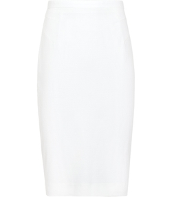 Bria  - Textured Pencil Skirt