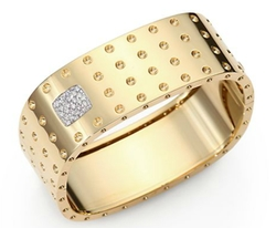 Roberto Coin - Pois Moi Diamond Bangle Bracelet
