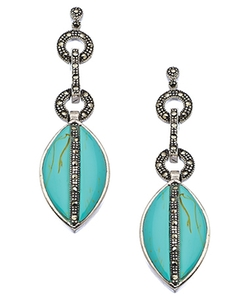 Tang & Song - Marquise Drop Earrings