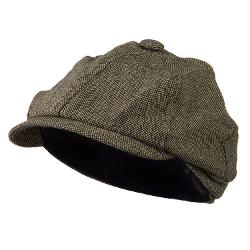 Jeanne Simmons  - Poor Boy Short Brim Newsboy Cap