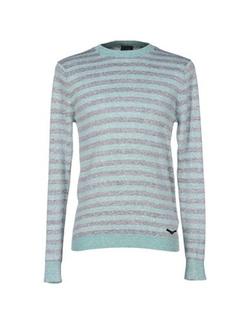 Diesel - Round Collar Stripe Sweater