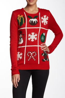 Cotton Emporium - Tic Tac Toe Sweater