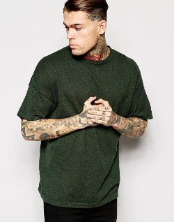 Asos - Oversized Knitted T-Shirt