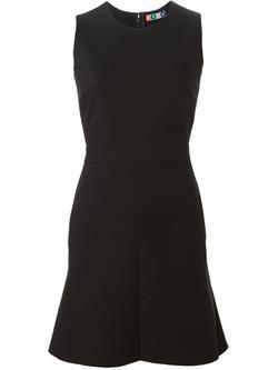MSGM - Flared Hem Sleeveless Dress