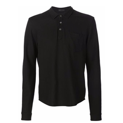 ATM Anthony Thomas Melillo - Long Sleeved Polo Shirt