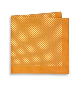 Saks Fifth Avenue Collection  - Dot Print Pocket Square
