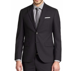 Saks Fifth Avenue Collection  - Modern-Fit Wool Sportcoat