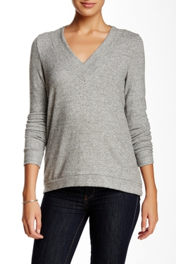 Harlowe & Graham  - V-Neck Soft Pullover Sweater