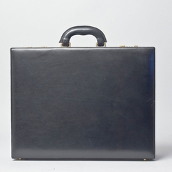 Maxwell Scott - Leather Expandable Attache Case