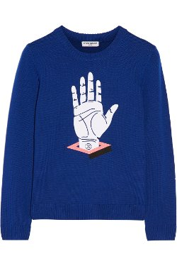Opening Ceremony  - Embroidered Wool Sweater