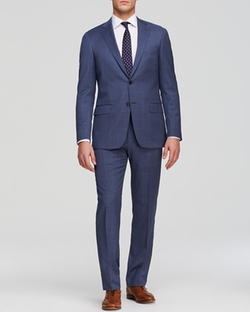 Hart Schaffner Marx  - Windowpane Check Suit