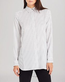 Kenneth Cole New York - Terry Pinstripe Shirt