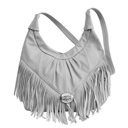 Afonie - Fringed Leather Bag