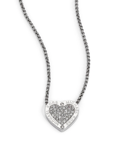 Michael Kors  - Heritage Hearts Pavé Necklace