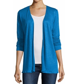 NM Luxury Essentials - Draped Open Cardigan