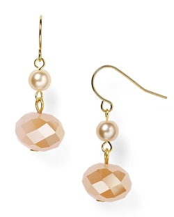 Carolee - Beaded Double Drop Earrings