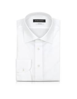 Forzieri - Non Iron Cotton Dress Shirt