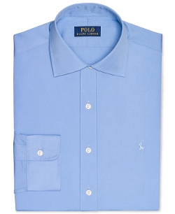 Polo Ralph Lauren - Slim-Fit Poplin Solid Dress Shirt